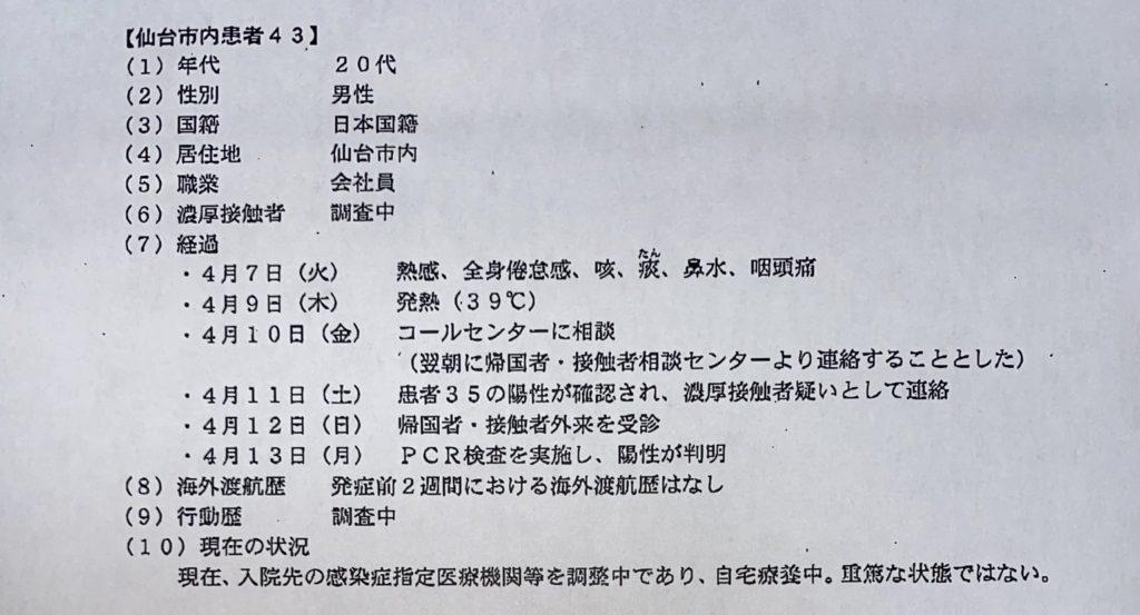 仙台コロナ43