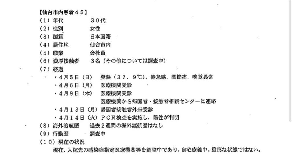 仙台コロナ45