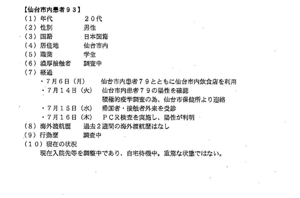 仙台コロナ93 東北工業大学