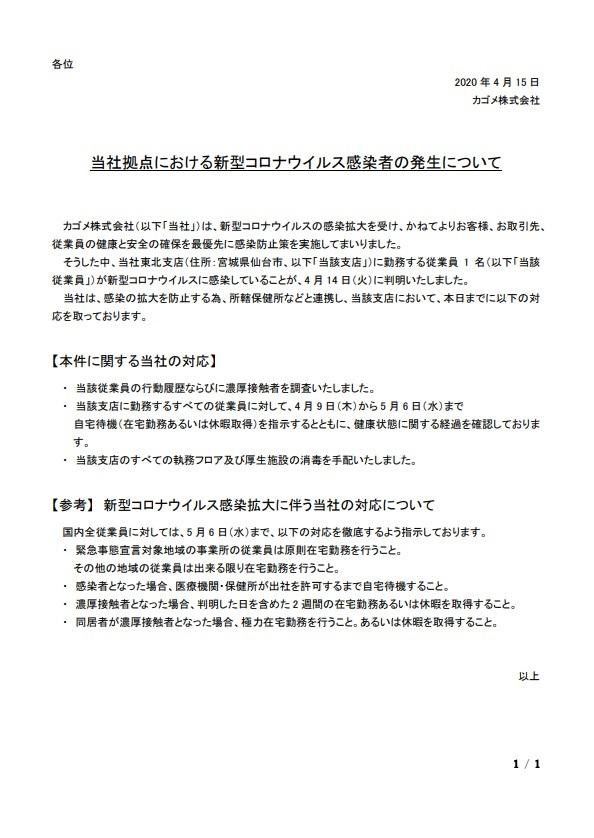 仙台コロナ カゴメ