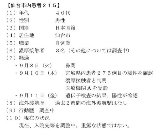 仙台コロナ215