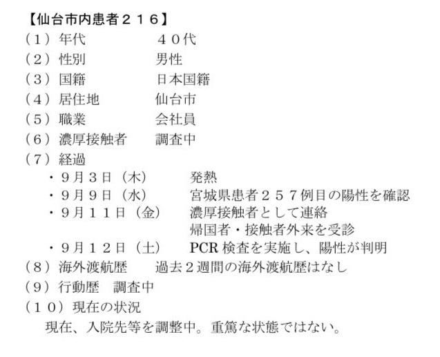 仙台コロナ216