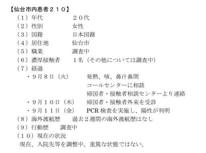 仙台コロナ210