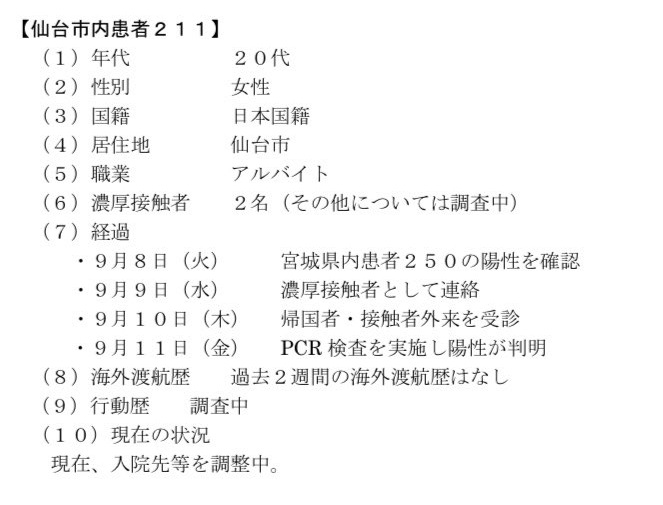 仙台コロナ211